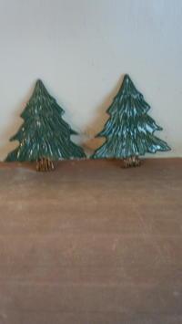 クリスマスオーナメントです。 - 陶芸教室 なすびの花