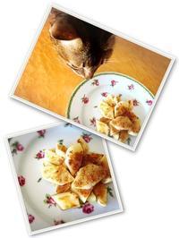 シンプルな焼きリンゴもなかなか美味です - 書家KORINの墨遊びな日々ー書いたり描いたり