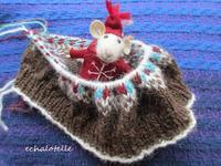 * 雪を待ちながら編むベレー帽 ① - フランス Bons vivants idees d'aujourd'hui