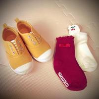 【2歳11ヶ月】靴と靴下 - ふくふくライフ はじめての育児日記