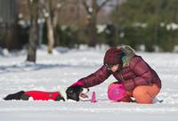雪遊び - 日々是精進也