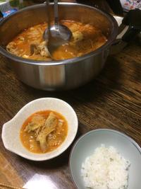 キムチ鍋 - 庶民のショボい食卓