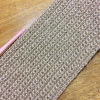 久しぶりの麻ひもバックを編み始めました。 - +you