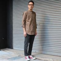 タイプライター素材で見せるロングシャツ。 - AUD-BLOG:メンズファッションブランド【Audience】を展開するアパレルメーカーのブログ