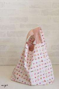 YUWA新柄2つ目は定番人気のマカロンに猫柄のレジ袋トート♪ - neige+ 手作りのある暮らし