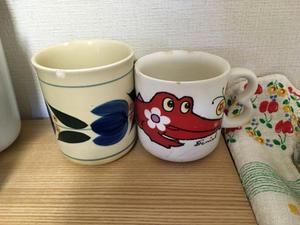 昭和レトロなマグカップ - 物と向き合うブログ