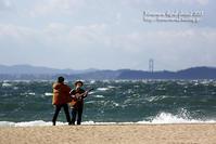 大荒れの海で - 気ままな Digital PhotoⅡ