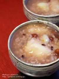 小正月の小豆粥~咳対策の薬膳仕立て。(料理・お弁当部門) - スパイスと薬膳と。