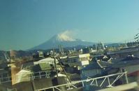 東海道新幹線A席から一瞬見える 富士山♪ - よく飲むオバチャン☆本日のメニュー
