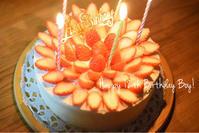 次男の誕生日 - handmade atelier uta