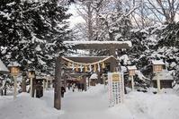 どんど焼き行ってきました。「新琴似神社」 - ワイン好きの料理おたく 雑記帳