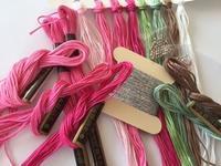 刺しゅう糸を準備する時間 - y-hygge