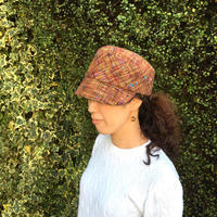 Asymmetry Roopモデル。ツィードの帽子 オーダー帽子 バイザーブリム - オーダーメイド帽子店と帽子教室 ハスナショップクチュリエ&手芸教室とギフト雑貨 Paraiso~パライーゾ楽園 Blog