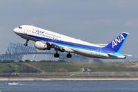 ANA A320の離陸 - 南の島の飛行機日記