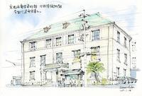 旧西陣織物館 - 風と雲