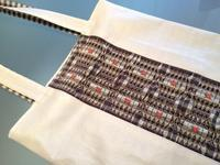 スモッキング刺繍のコーティング生地仕立て - ヨーキー はちのお留守番とママの香港生活