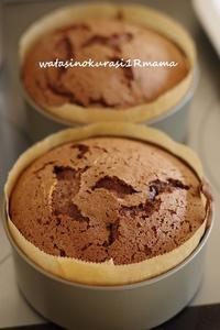 チョコレートケーキ♪ - わたしのくらし