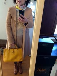 ロンシャン黄色トートバッグ - 着まわせない