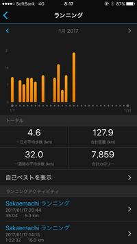 練習記録1月前半 - いつの日か村岡ダブルフル100kmでサブ10目指す勇者の記録