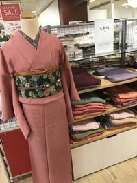 《アクア店》MEDELLでは色無地・江戸小紋が、3,000円★ - MEDELL STAFF BLOG