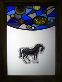 絵付け版画のような・・・2 - atelier GLADYS  ステンドグラス工房 作り手の日々
