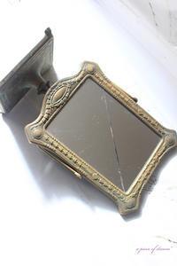 鏡リメイク! ベランダ用に黒板を作ってみました。 - a piece of dream* 植物とDIYと。