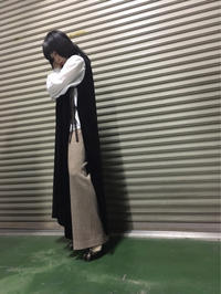 wide pants - diary of NOTA