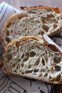プルーン酵母でカンパーニュ - オーブン手帖