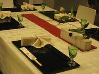 冬のテーブルコーディネート - ハッピーテーブル