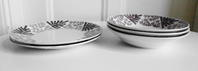 Gefle社製ミモザMIMOSA深皿&ディナー皿 - 北欧ヴィンテージ.あ!いいって!む!アイテムたち