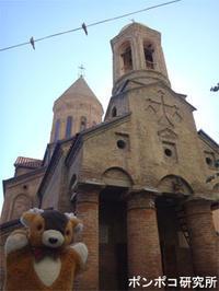 ホテルそばの教会 - ポンポコ研究所