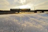 雪解け - 今日も丹後鉄道