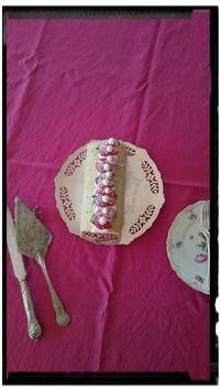 イチゴのロールケーキ②* - まだむへの道*~C'est la vie~