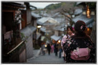 夕暮東山-2 - Hare's Photolog