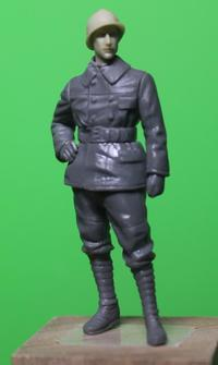MENG MODEL HS-005 French FT-17 Light Tank Crew and Orderly - 押出鋲二郎日記