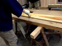 カブラキメイドテーブルの塗装 - 鏑木木材株式会社 ブログ