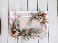 フレームアレンジ1dayレッスン② - driedflower arrangement ✦︎ botanical accessory ✦︎ yukonanai ✦︎ gland*