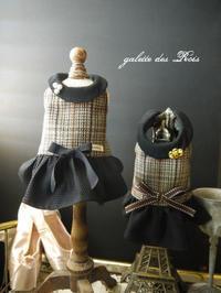 ワンコ服 シャネル リントンツィードのワンピース 2着目 - galette des Rois ~ガレット・デ・ロワ~