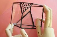 サイズを縮小したテラリウムです - ルームシューズを作るゥ。。ステンドグラスも作る。