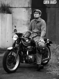 早川 兼司 & kawasaki W650(2016.10.01) - 君はバイクに乗るだろう