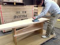 カブラキメイドテーブルと丸太、そして定休日のおしらせと - 鏑木木材株式会社 ブログ