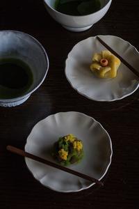 季節の和菓子 - 鏡花水月
