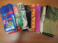 7枚のエルメススカーフ - おしゃれを巡る冒険