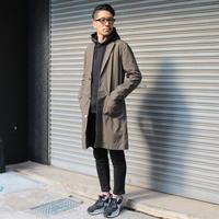 春に着るチェスターコート。 - AUD-BLOG:メンズファッションブランド【Audience】を展開するアパレルメーカーのブログ