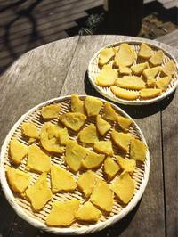 ポカポカ陽気の休日は干し芋とサツマイモのバターケーキ - Coucou a table!      クク アターブル!