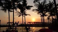 W Retreat & Spa Bali 夕暮れ時のWET周辺のえとせとら ('16年GW) - 道楽のススメ