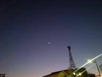接近(月と金星)~♪。 - もりじいの備忘録。