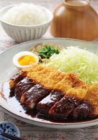 「野間のこしひかり」と食べたい!名古屋名物味噌カツ~水で変わる、毎日の料理~ - cafeごはん。ときどきおやつ