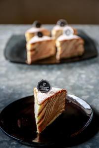 ラインの美しいスフレチーズケーキ・ラザニア - のんびりのびのび