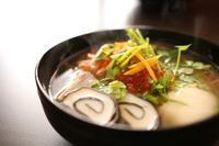 お雑煮の具材 - 亜麻仁